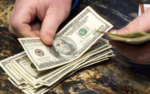 Курс долара на чорному ринку в Україні